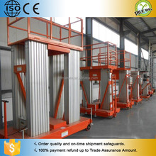 HOME lifter for single person for construction aluminum alloy hydraulic lifting platform