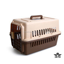 trasport live oultry foulding plastic pet travelling crate