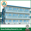 temporary prefab house steel roof construction structures