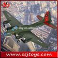 juguete de niño 2ch rc avión flying fortress 17b modelo de motores de avión