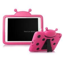 New Ladybug design EVA with handle case,kids portable case,hand hold case for ipad mini