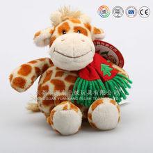 China factory custom make fashion cute dairy cattle stuffed animal toys