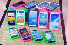 Cute Cell Phone Universal Silicon Case , Silicon Bumper Case