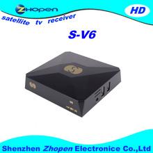 New Products hd dvb-s mini tv decoders s-v6 s-v7 s-v8