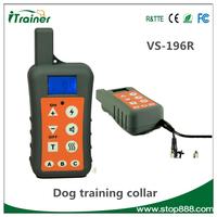 VS-196R Dog Training Collar Electric Shocks Pet Bark Stop collar Anti Bark Dog Shock Collar
