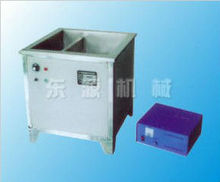 Double-tank ultrasonic cleaning machine with heating apparatus