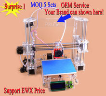 DIY kits Reprap Prusa i3 3d Printer kit P802Y OEM brand support