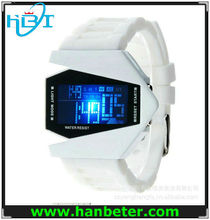 New arrival cyber style multicolor LED digital watches stopwatch sport
