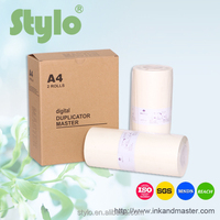 digital duplicator EZ A4 master roll&Thermal paper,feed roller