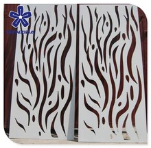 white powder coated steel panel garden screen laser cut outdoor metal screen