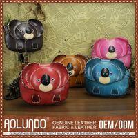 Custom Printing Logo Leather Kids Wrist Wallet