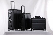 Professional aluminum alloy famous brands luggage alibaba china from Guangdong