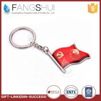 Wholesale promotional metal keychain parts