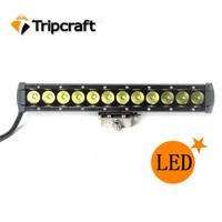 "Super bright! 10.9"" 60w LED DRIVING LIGHTS 9--70v DC with Flood/Spot/Combo IP67 Single Row 60w 12v led driving lights"