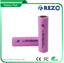 the rechargeable li-ion 18650 batteries for flashlight /E-cigarette specially