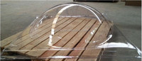 10mm round transparent pc / polycarbonate dome skylight