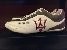 Italy Luxury MASERATI Fashion Men Sneaker genuine leather sport shoes men flats,2015 MASERATI Sneakers Arena Racing shoes men