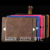 commerce grade leather stand case cover for ipad mini