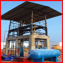 To recycle tyre/plastic/crude oil and waste engine oil by using waste to oil plant