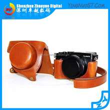 2015 Hotsale Cheap Leather Camera Bag Cover Protecting Case LX100