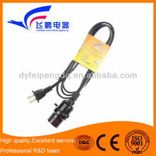 FP-679 light socket with switch extension cord