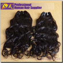 New Style Top Quality 7A Unprocessed Indian Hair Piece Virgin Natural Wave Hair