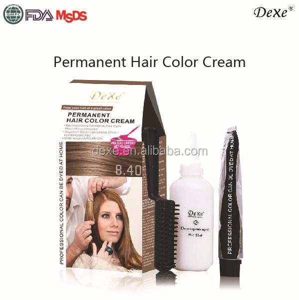 Permanent Hair Dye Of Dexe Hair Coloring Cream Of Hot Sale In ...
