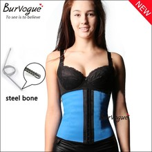 Waist shapers product and in stock items supply steel boned women underbust body cincher fajas latex shapers wholesale cheap