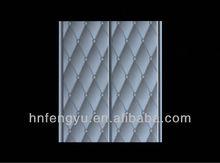 20cm Glossy PVC panel High Quality Interior Decorative Bathroom PVC Ceilings 2012(ISO9001:2008)