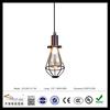iron frame decor suspension lamp with Edison bulb