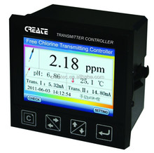 Free Chlorine controller/CLO2/pH controller/Temp Online Analysis Control System integration