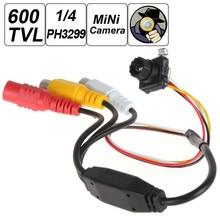 "600 TVL 1/4"" PH3299 Surveillance Mini Digital CCD CCTV CMOS Camera 6mm Focus Lens Hidden Covert Cam Home Video Surveillance"