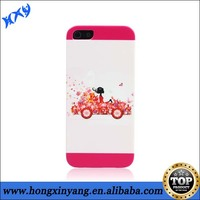 For iPhone Back Case,Beauty Girl Face Pattern Design Hard PC Back Case For iPhone 5,Back Case for iPhone 5s.