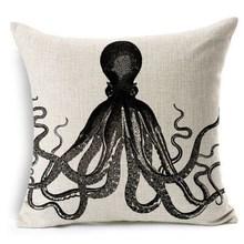 2015 Venta al por mayor fábrica distribuidor estampado sofá decorativo algodón lino cojín cama