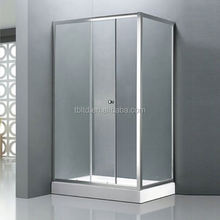 beautiful shower enclosures TB-T3310 simple glass cheap bent glass shower enclosure beautiful shower enclosures