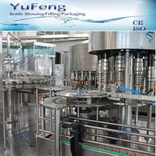 Glass bottle coconut oil washing / filling / capping line