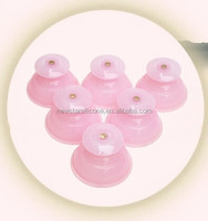 2015 fashion silicone medical chinese self-treatment cupping set