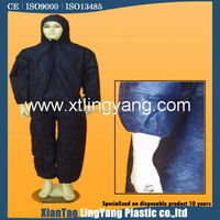 hood disposable coverall safety cloths