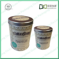 Kairu metal tin bucket shape candy gift box for wedding