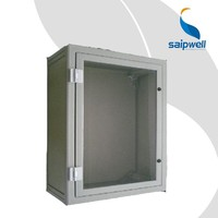 SAIP/SAIPWELL Customized Distribution Box with Clear Cover 500*400*300 Project Enclosure IP66 Electronics Enclosure Plastic