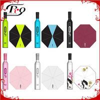 alibaba express promotion wine bottle umbrella