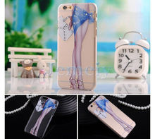 Mobile Phone Case Rhinestone Cover For iPhone 6 4.7 For New Mobile Phone