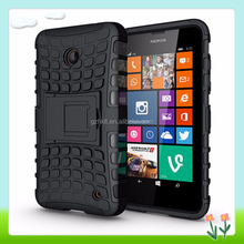 Factory Price Mobile Phone Cover For Nokia For Lumia 630 Case 2-in-1 Phone Back Case With Holder