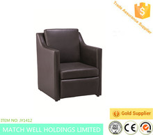 European style Pu leather sofa for meeting room