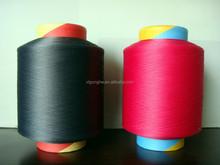 dyed nylon covering spandex yarn for women socks
