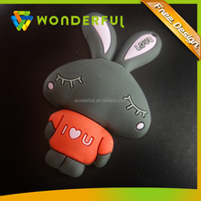 Factory Production Reasonable Price Durable And Washable Cartoon 3D Soft PVC New Rubber Keychain