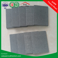 100% non-asbestos fireproof decorative cladding panel non-asbestos fiber cement board heat resistant buildings materials