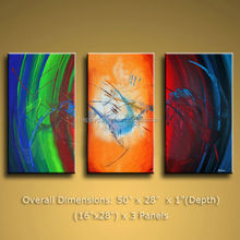 group paintings in 3 pieces