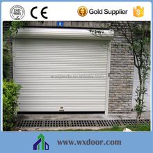 High Performance Motorized Outdoor Aluminum Roller Shutter Door for Resident