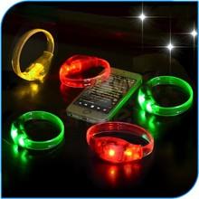 China Manufacture Hotsale Popular Sound Activated Led Bracelet